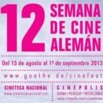 12ª. Semana de Cine Alemán