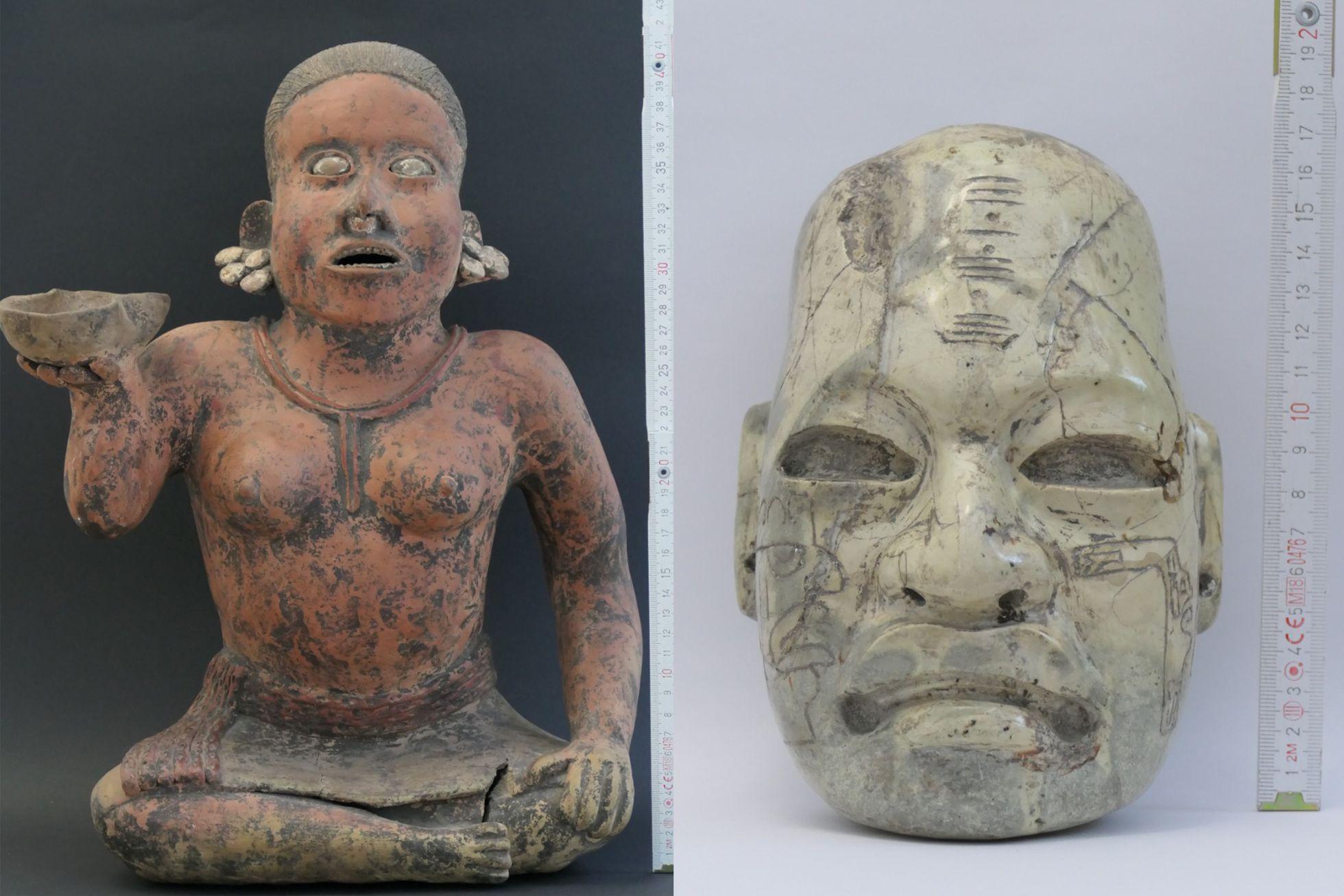 Alemania devuelve voluntariamente 34 piezas arqueológicas a México
