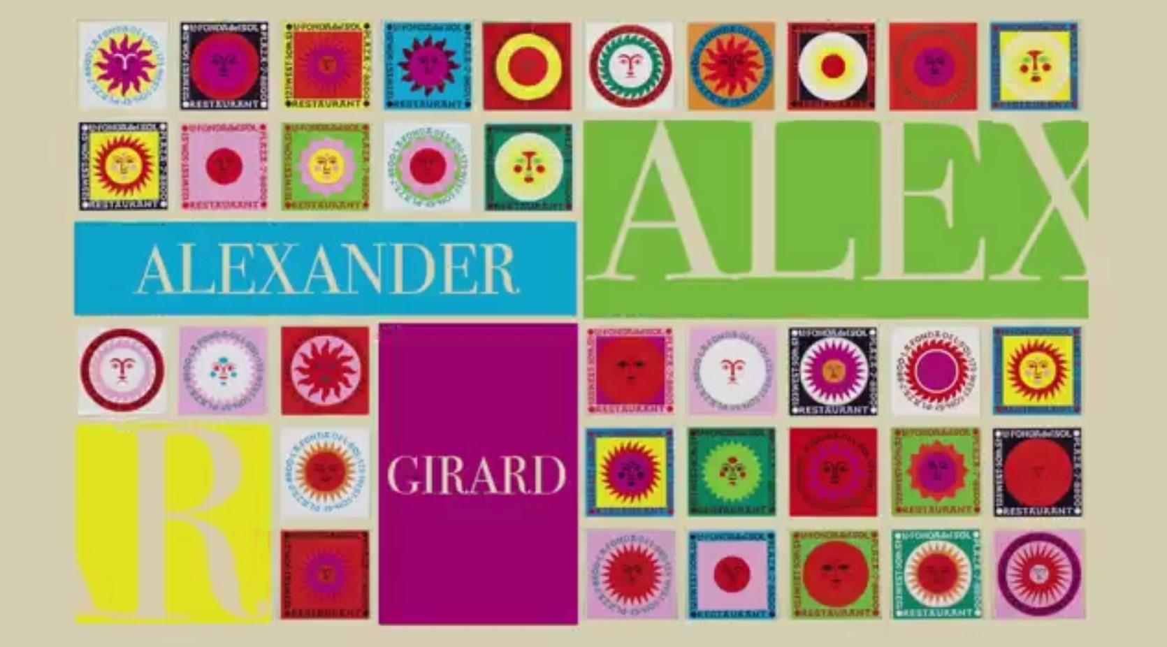 El Universo de un Diseñador: Alexander Girard